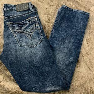 Men's Salvage Havoc Straight Slim fit Jeans!